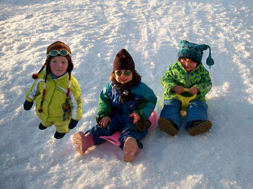 Les 3 petits (Clément, Lisa et Gabriel)