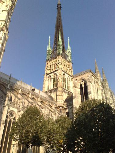 La flèche de la cathédrale